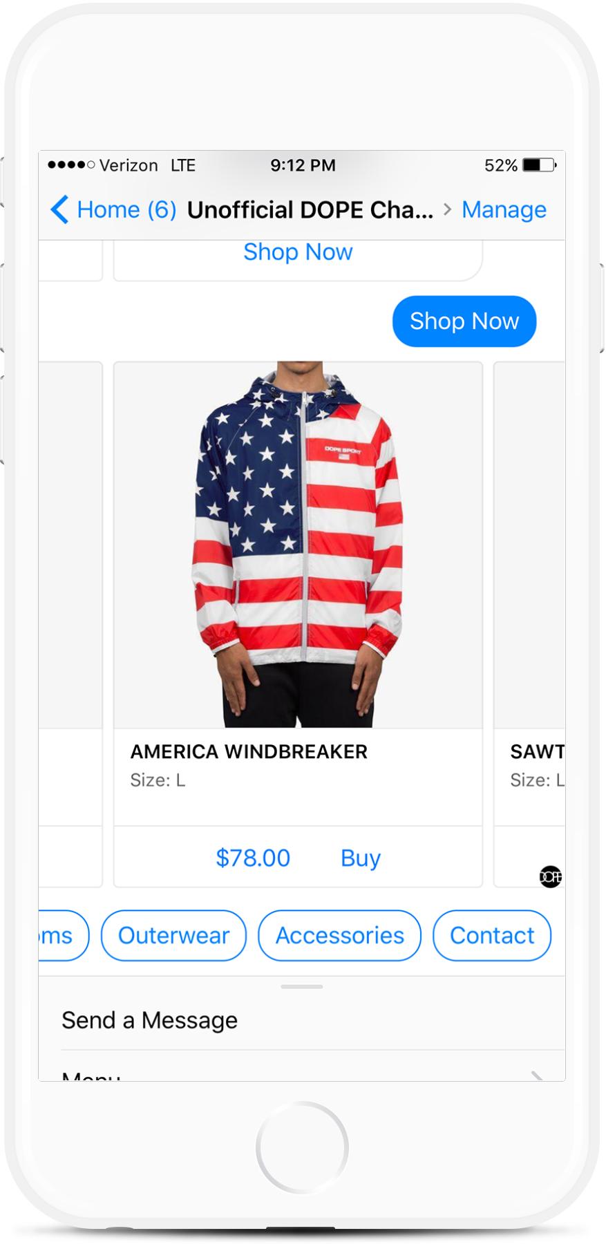Facebook Messenger Chatbot for Clothing Retailers for $29   #messenger #bottemplates #bots #chatbots #aibots #fbmessenger #botmakers