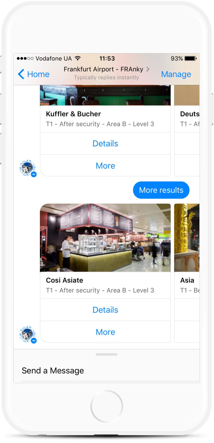 Airport Information Desk Facebook Bot from $99/mo   #messenger #bottemplates #bots #chatbots #aibots #fbmessenger #botmakers