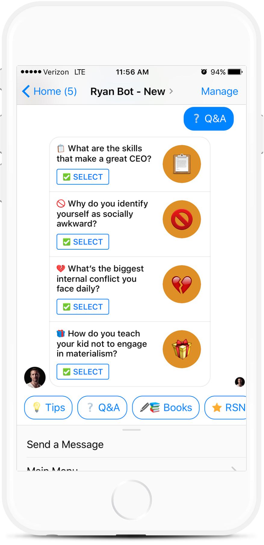 Facebook Messenger Chatbot for Influencers for $35   #messenger #bottemplates #bots #chatbots #aibots #fbmessenger #botmakers