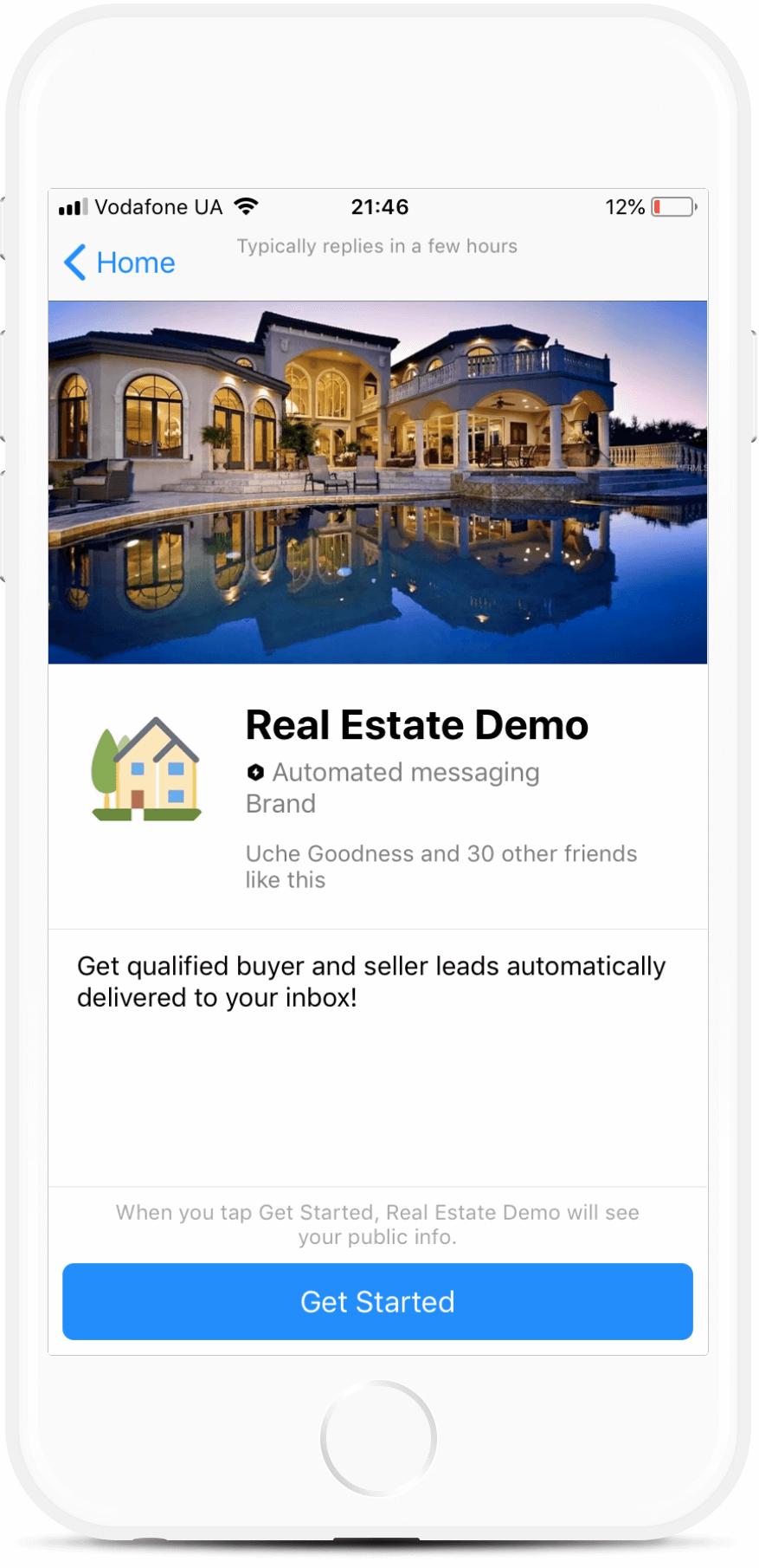 Zapier and Manychat Messenger Bot for Real Estate Agents