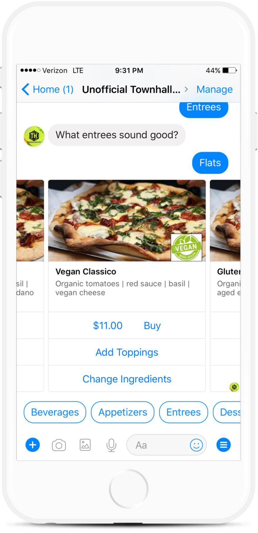 Ordering Assistant Messenger Chatbot For Restaurants for $29   #messenger #bottemplates #bots #chatbots #aibots #fbmessenger #botmakers